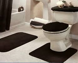 new ideas bathroom rugs sets details about black bathroom rug set
