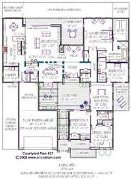 Courtyard Plans The 25 Best Courtyard House Plans Ideas On Pinterest House