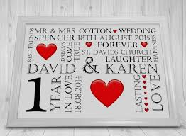1st wedding anniversary gift 1st wedding anniversary ideas inspirational 1st wedding anniversary