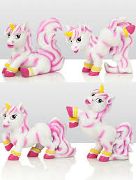 unicorn cake topper assorted resin unicorn cake toppers set of 4 the vanilla valley