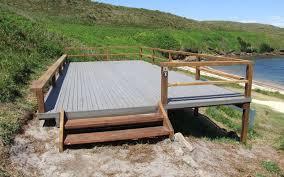 composite landscape timbers u2014 paulele beach house
