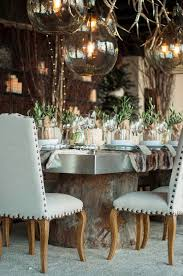 rustic winter dining table tablescape tabletop entertaining