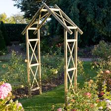 garden archway trellis home outdoor decoration