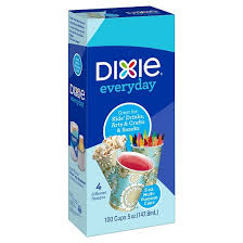 dixie cups dixie everyday disposable paper cups bath cups 100ct target