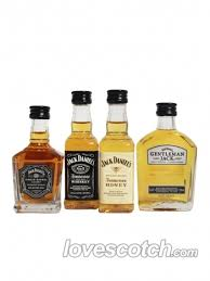 Gentleman Jack Gift Set Jack Daniels Miniature Gift Set Buy Online Lovescotch