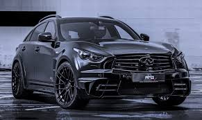 nissan infiniti 2015 ahg sports u0027 menacing infiniti qx70 lr3 wide body