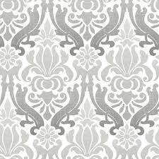 peel and stick wallpaper nouveau 18 x 20 5 damask peel and stick wallpaper roll reviews