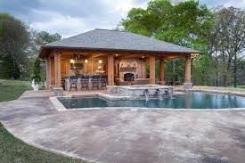 house plans with pools and outdoor kitchens outdoor kitchen designs with roofs pool cabana backyard cabana