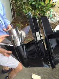 2005 mercury 150 efi outboard pulled lower unit off and replaced