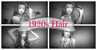 1920s hairstyle for long hair youtube