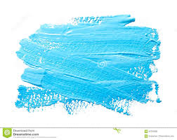 Light Blue Paint by Turquoise Light Blue Strokes Of The Paint Brush Isolated Stock