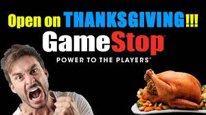 what to say on thanksgiving day gamestop thinks it u0027s a brilliant idea to ruin their employee u0027s