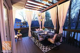 Outdoor Pergola Lights by Deck Decorating Ideas Pergola Lights And Cement Planters Outdoor