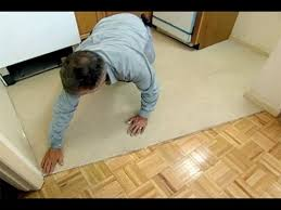 Installing Vinyl Sheet Flooring This House General Contractor Tom Silva Lays A Vinyl