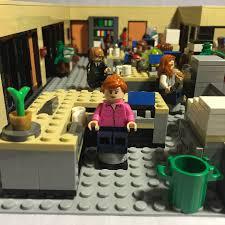 lego office lego ideas nbc s the office