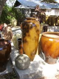 ceramic pots for sale at weaver creative in austin tx
