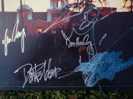 california photo album the eagles hotel california lp record album signed by the band