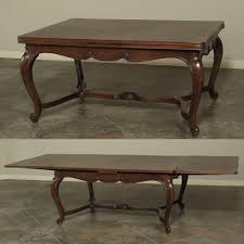 country french dining room furniture country french walnut draw leaf dining table inessa stewart u0027s