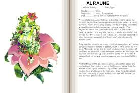 flower encyclopedia alraune girl encyclopedia wiki anime amino