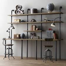 etageres bureau amérique loft industrielle étagères personnalité créative