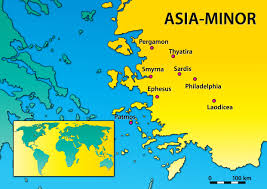 Asia Minor Map 1367 Revelation 2 Dwelling In The Word