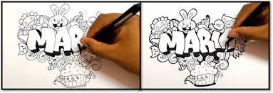 imagenes para dibujar letras graffitis paso 4 para dibujar letras en graffiti aprender a dibujar letras