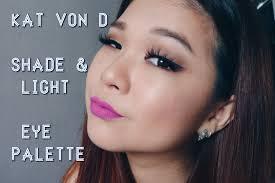 kat von d shade and light vault hooded eyes grwm kat von d shade light eye palette dark