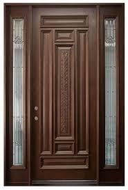 Wood Double Doors Design