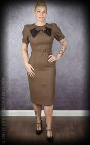 stop staring stop staring houndstooth dress brown black vintage dress