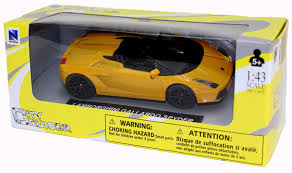 barbie lamborghini die cast yellow lamborghini gallardo spyder 1 43 scale