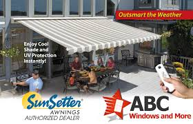 Discount Retractable Awnings Motorized Retractable Awnings Abc Windows And More