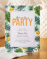 What Is Rsvp On Invitation Card Have Your Friends Join You For A Tropical Party This Summer With A