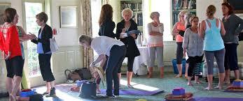 nancy samotis restorative yoga cape cod summer camp
