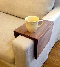 couch arm coffee table reclaimed wood couch arm table arms woods and diy ideas
