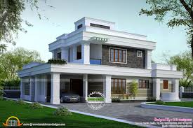 bedroom house plans as well flat roof house plans designs