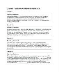 summary exle for resume executive summary resume exle resume sle