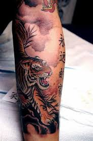 image result for watercolor dragon tiger tattoo tats i love
