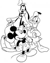 mickey mouse christmas coloring pages lovely christmas tree