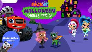 nick jr friends halloween house party spooky fun youtube