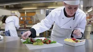 chef cuisine femme cooking cook preparing food hd stock 935 281 108