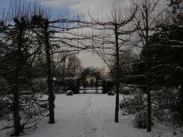 file inside the secret garden in winter geograph org uk