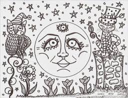 hippie coloring pages fablesfromthefriends com