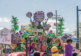 mardi gras ladders why are there so many mardi gras parades sociological images