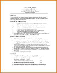 Lab Resume 4 Medical Laboratory Technician Resume Sample New Hope Stream Wood