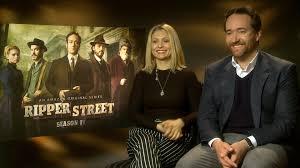 Ex Machina Cast by Myanna Buring U0026 Matthew Macfadyen Exclusive Interview Ripper