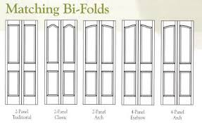 Solid Bifold Closet Doors Terrific Solid Bifold Doors Photos Ideas House Design