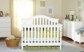 top two graco sarah 4 in 1 convertible crib white for baby