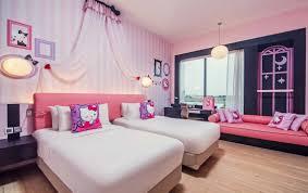 hello kitty bedroom hotel jen puteri harbour johor