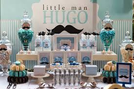 gentleman baby shower gentleman mustache blue baby shower