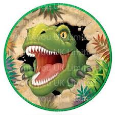 edible cake topper 24 edible cake toppers decorations dinosaur